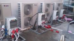 Services of Air conditioners installing