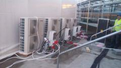 Installation of systems of an air conditioning