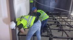 Монтаж  установка металлоконструкций
