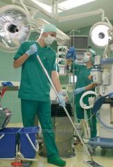 Профессиональная уборка медицинских учереждений