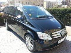 Аренда автомобиля Mercedes Viano VIP