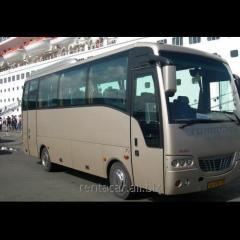 Аренда автобуса Isuzu