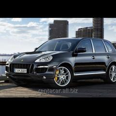 Аренда автомобиля без водителя Porsche Cayenne