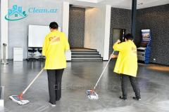 Daily complex cleaning of offices and territories