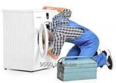 The specialist in repair of washing machines with