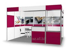 Construction of exhibition stands