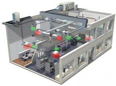 Проектирование систем вентиляции и кондиционирования воздуха промышленных и административных помещений