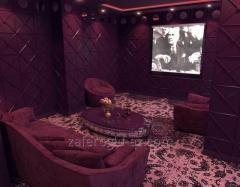 Interior design of cinema halls