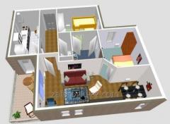 3D - interior designing