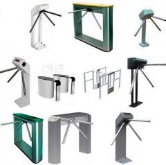 Turniket sistemləri, elektromexaniki, tripod turniket sistemləri