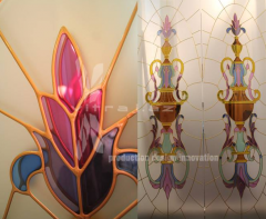 Manufacturing of stained-glass windows