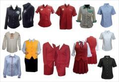 Пошив корпоративной одежды и униформа для персонала