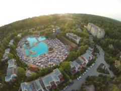 Развлекательный центр на берегу Каспийского моря Atlant Holiday Village 180 км от Баку