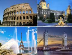Горящие туры по Европе предлагает Dervish travel