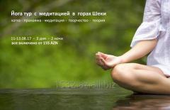 """Йога тур с медитацией в горах Шеки"" от 155 AZN*"