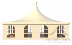 Аренда шатра Пагода стандарт 10х10