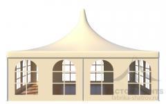 Аренда шатра Пагода стандарт 8х8