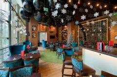Новогоднее оформление Hard Rock Cafe Baku
