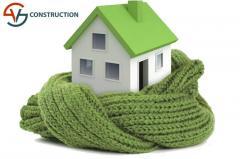 Теплоизоляция дома под ключ