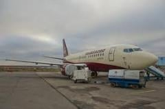 Business transportations by planes with VIP-salon