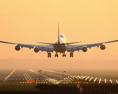 Services of Air transportation of the Business
