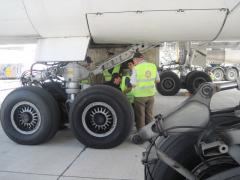 Servicing of aircrafts