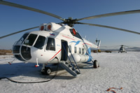 VIP-transportations by helicopter