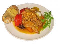 Приготовление блюда Курица «Bəh-Bəh»