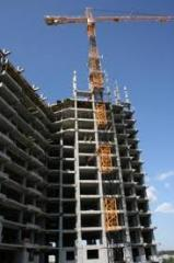 Construction of modern buildings and