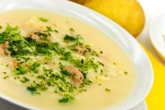 Приготовление первых блюд: супы