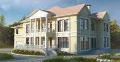 Construction of cottages on individual projects