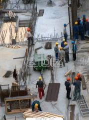 Services of construction crews
