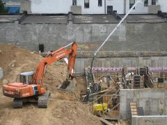 Installation of the engineering construction
