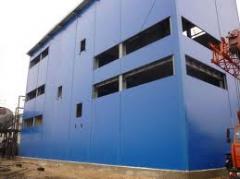Услуги подряда по строительству зданий